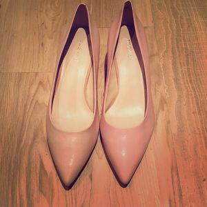 Pink Nine West small heeled shoes